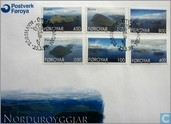 Postage Stamps - Faroe Islands - 1999 Landscapes