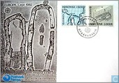 Postage Stamps - Faroe Islands - Europe – Historic Events