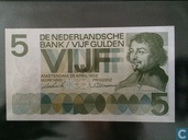 Netherlands 5 gulden 1966