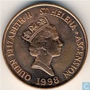 Sint-Helena en Ascension 2 pence 1998