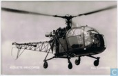 Alouette helicopter Kon. Luchtmacht