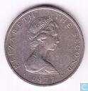 Isle of Man 10 pence 1977 (PM on both sides)
