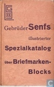 Illustrierter Spezialkatalog über Briefmarken-Blocks