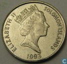 Solomon Islands 5 cents 1993