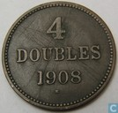 Guernsey 4 doubles 1908