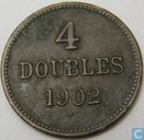 Guernsey 4 doubles 1902
