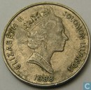Solomon Islands 10 cents 1988