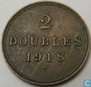 Guernsey 2 doubles 1918