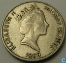Salomon Islands 20 cents 1989