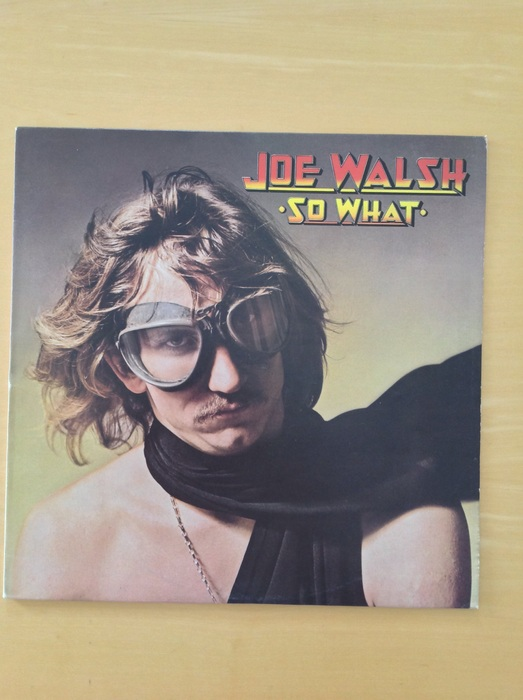 Joe Walsh (Eagles) - You Can't Argue With A Sick Mind UK