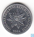 Madagaskar 2 francs 1984