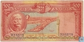 Most valuable item - Angola 500 escudos 1956