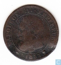 France 2 centimes 1853 (BB)