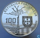 Portugal 100 escudos 1990 (PROOF) Camilo Castelo Branco