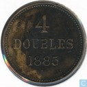 Guernsey 4 doubles 1885