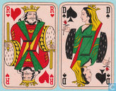 52 Speelkaarten + 1 joker, Playing Cards, 1940