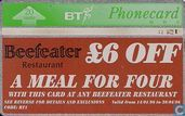 Beefeater Discount Card