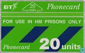 For Use In HM Prisons Only- Green Strip