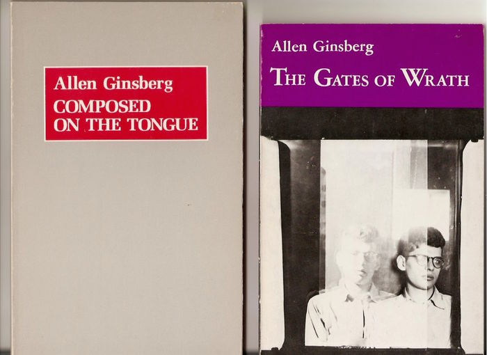 Allen Ginsberg - Composed on the Tongue (1980) & The Gates of Wrath ( 1979)