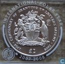 "British Antarctic Territory 2 pounds 2008 (PROOF) ""100th Anniversary of the Letters Patent of British Antarctica"""