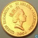 Sainte Hélène et Ascension Island 2 pence 2006