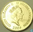 Sint-Helena en Ascension 10 pence 2006