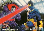 Greatest Battles: Cyclops vs. MR. Sinister