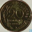France 20 centimes 2001