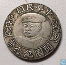 Chine 1 dollar 1912 (OE)