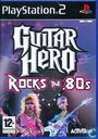 Video games - Sony Playstation 2 - Guitar Hero: Rocks the 80s
