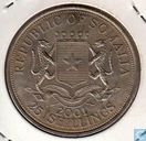 "Somalie 25 shillings 2001 ""Gothic Queen Victoria"""