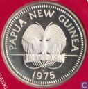 "Papoea-Nieuw-Guinea 10 kina 1975 (PROOF) ""Raggiana Bird of Paradise"""