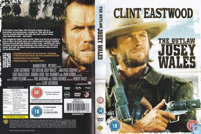 The Outlaw Josey Wales - DVD - Catawiki