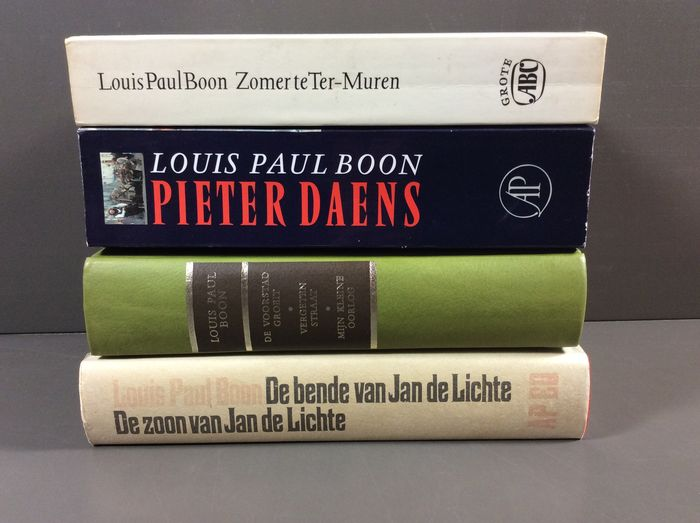 Varia; Lot met 7 titels van Louis Paul Boon - 1978/1993