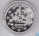 "France 6,55957 francs 2001 (PROOF) ""Liberté"""