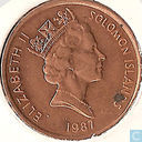 Solomon Islands 1 cent 1987