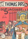 Comic Books - Thomas Pips - De 5 jaguars