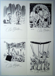 Eisner, Will - 4 signed bookplates - (2003)