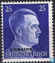 Adolf Hitler with overprint