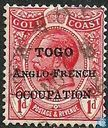 King George V, with overprint