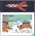 Tim und Struppi Comic-Briefmarken