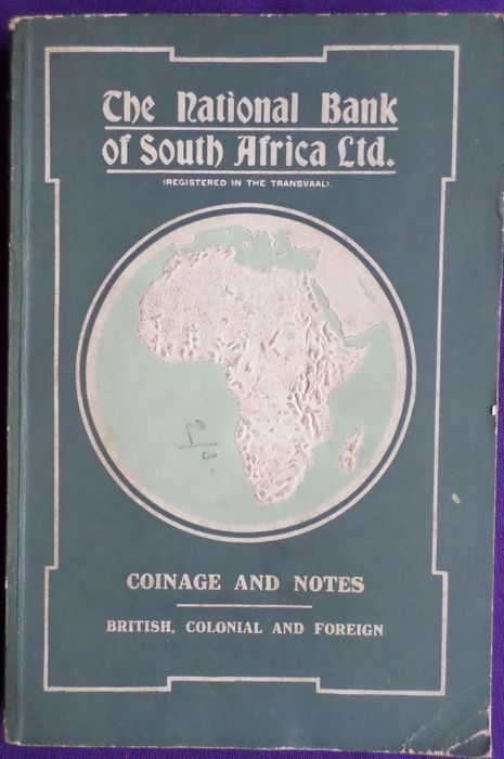 Numismatiek; The national bank of south Africa - Coinage and Notes. Britisch, Colonial and Foreign - 1921