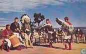 Hopi Indian Dancers Grand Canyon