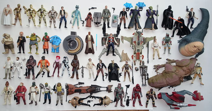 Star Wars POTF en SOTE - Kenner / Hasbro - 49 losse figuren
