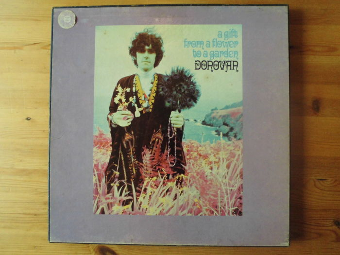 Donovan lp box a gift from a flower to a garden pye uk - Donovan a gift from a flower to a garden ...