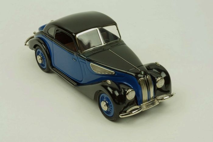 Schuco - Scale 1/18 - BMW 327 Coupe 1937 Blue - Catawiki
