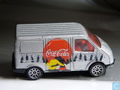 Model cars - Matchbox - Ford Transit 'Coca-Cola'
