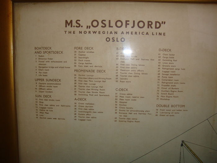 - Printed M s Folder American Original Oslofjord Old By Large Rotogravure-leiden-holland Norwegian 1968 Plan Line Catawiki Print