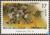 Postage Stamps - Belgium [BEL] - Europe - Tales and legends