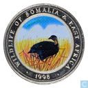 "Somalie 25 shillings 1998 ""Spurfowl"""